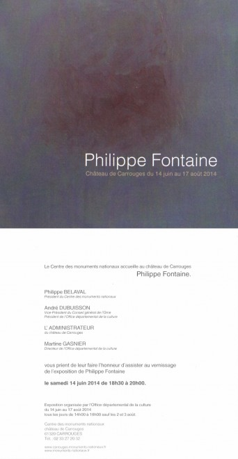 iPhilippe Fontaine. Carrouges 2014