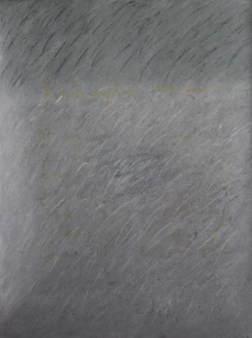 pastel sur papier, 2012