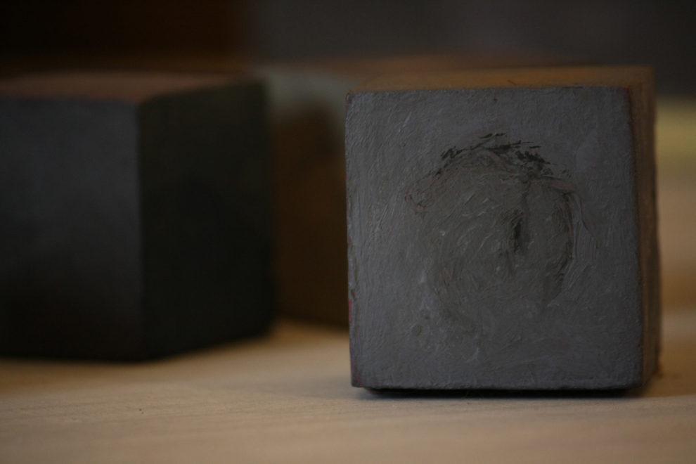 Cubes 5 cm de côté 2010
