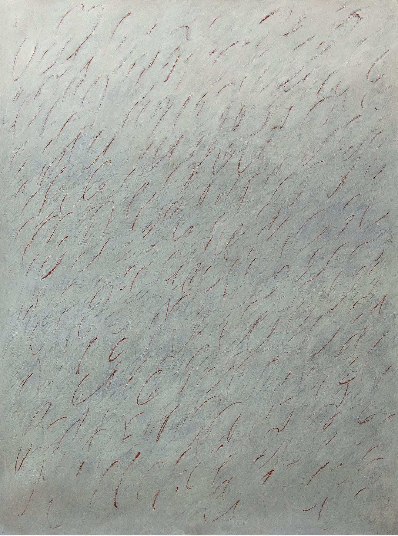 Huile sur papier. 2017. 207 x 150 cm.