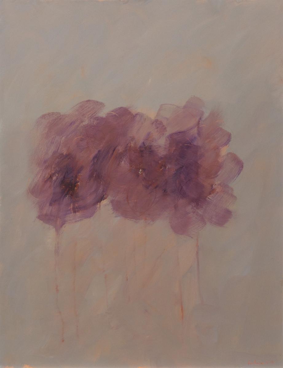 Huile sur papier. 2016. 65 x 50 cm. (collection privée)