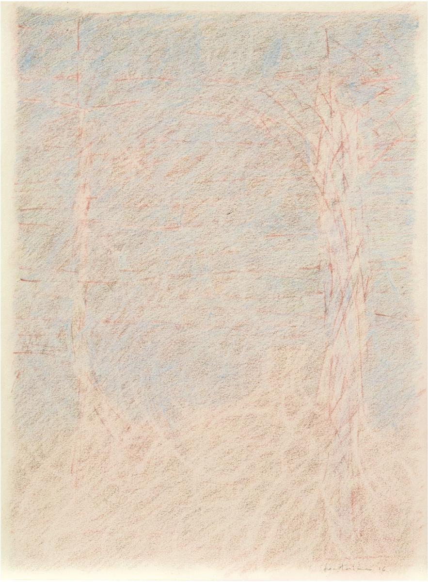Crayons de couleur sur papier. 2017. 28.5 x 21 cm