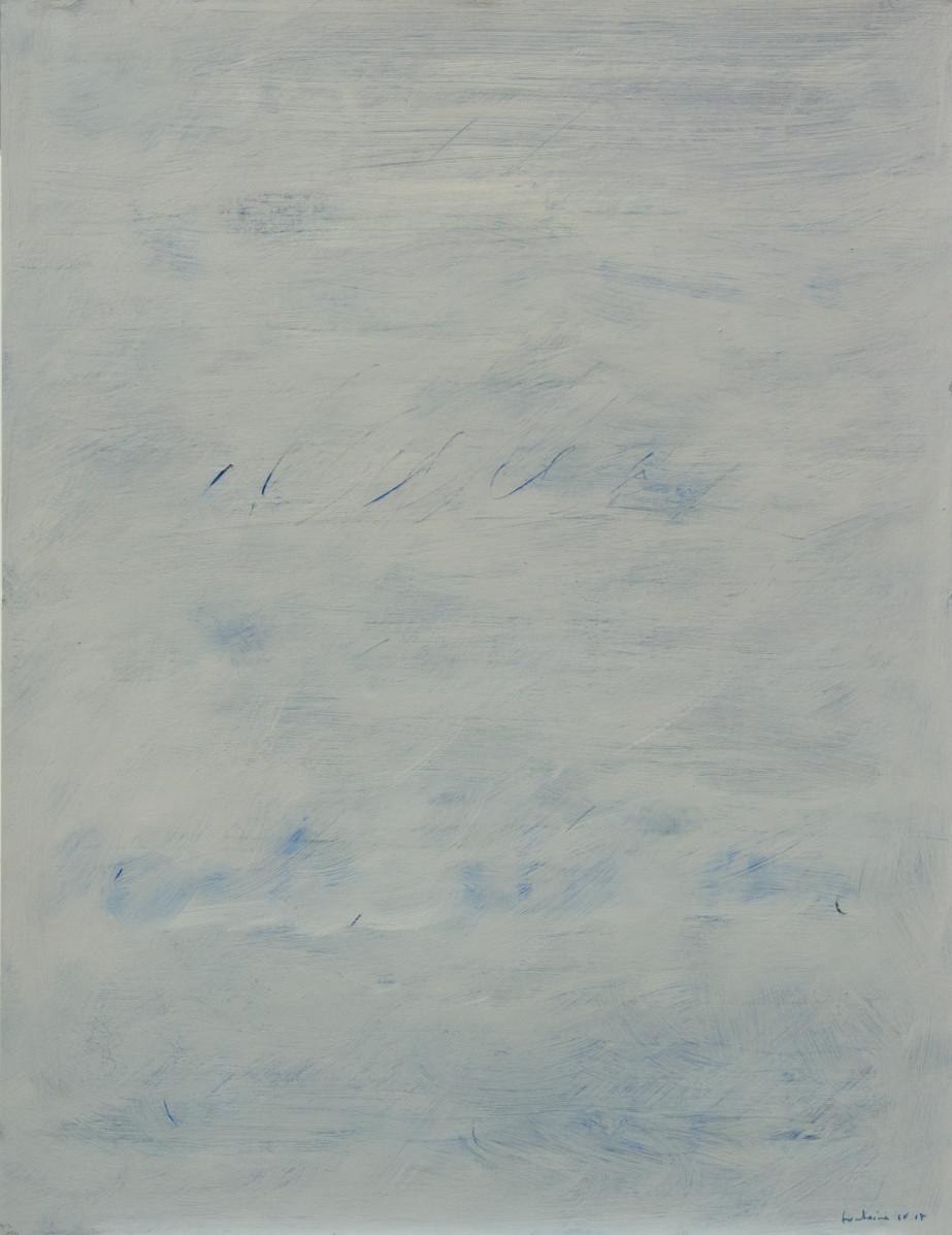 Huile sur papier. 2016. 65 x 50 cm