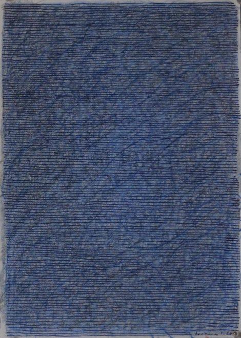 Philippe Fontaine - Crayons de couleur 2020. 30 x 21 cm