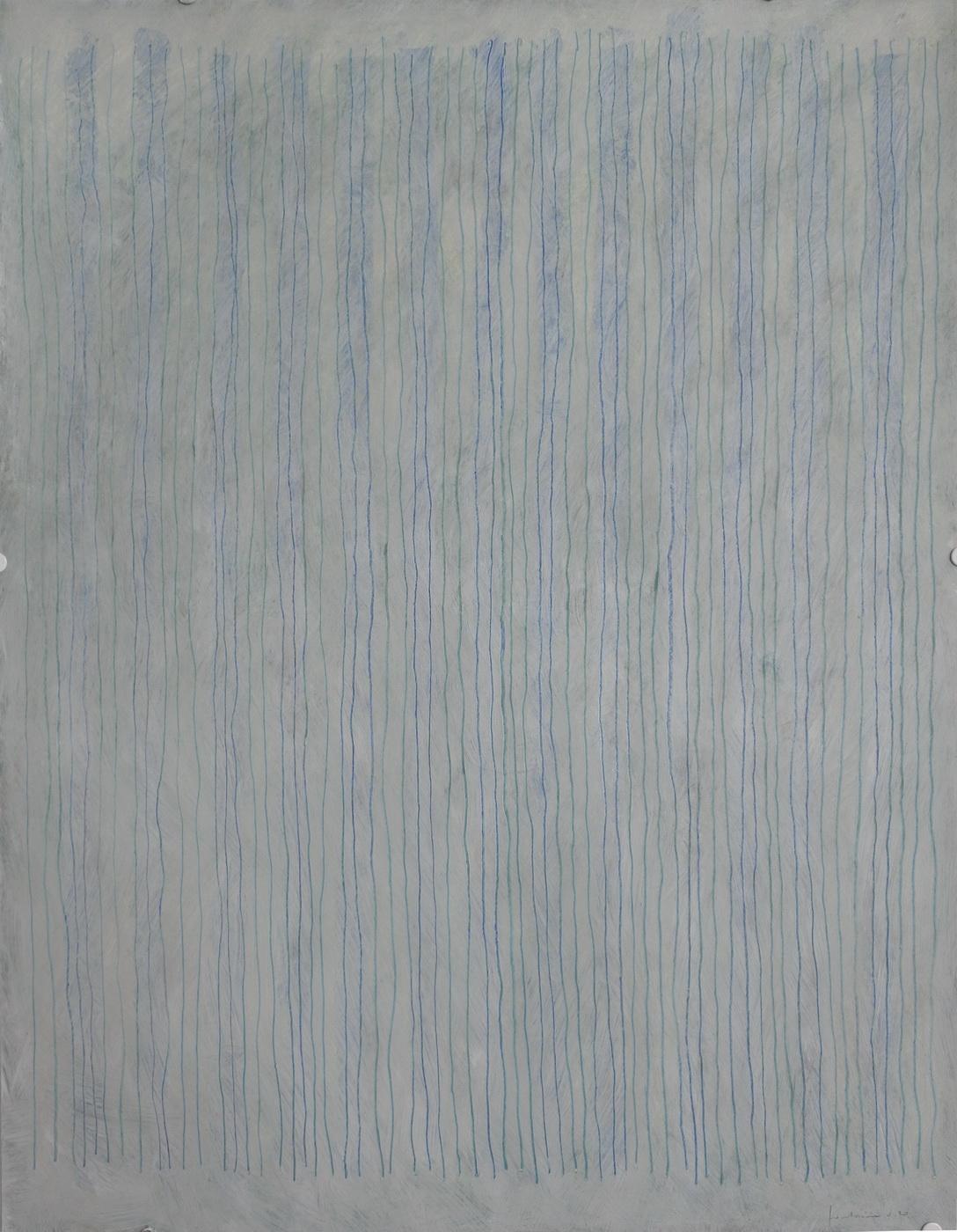 Huile sur papier 2020. 65 x 50 cm