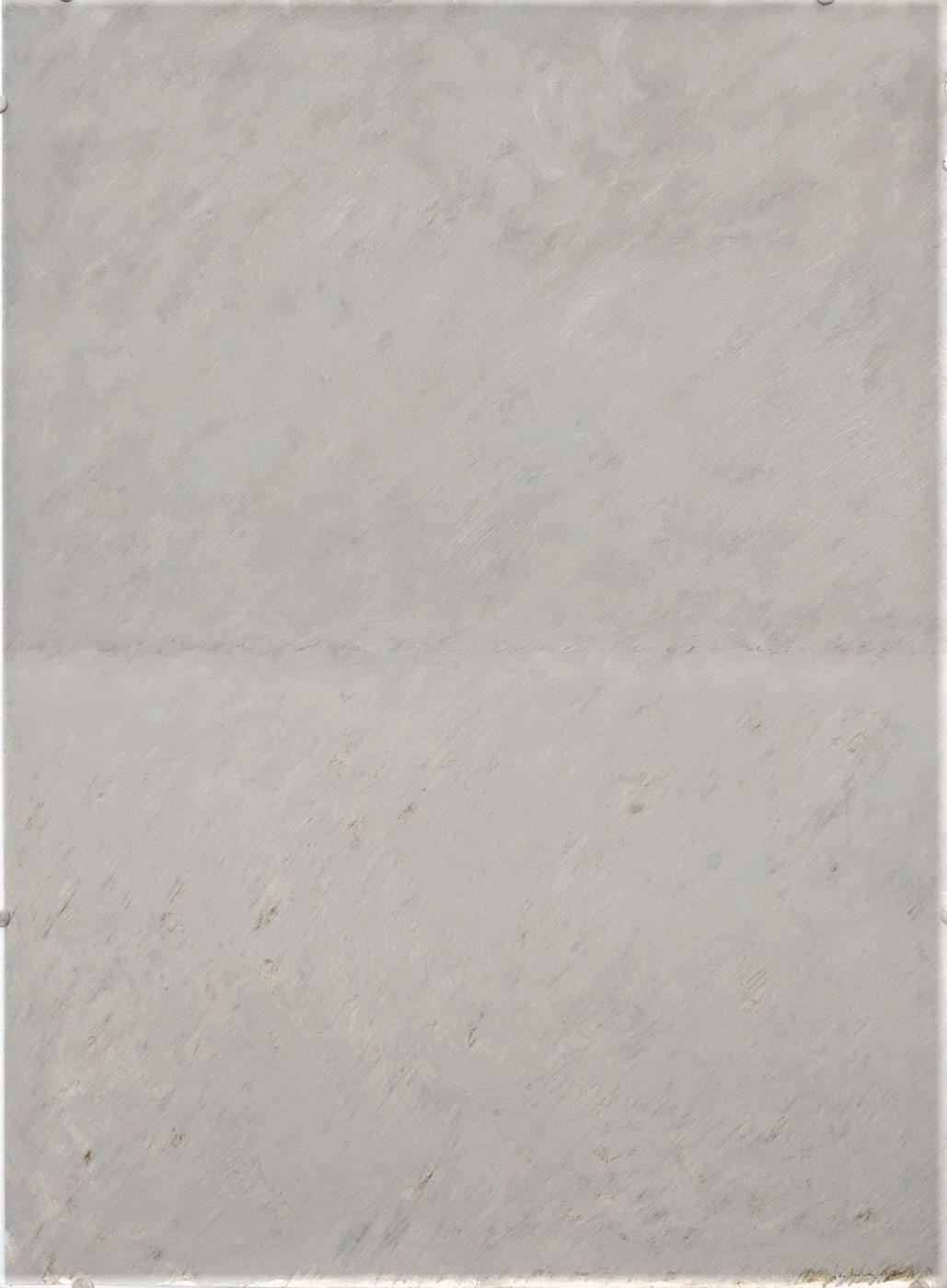 Huile sur papier 2020. 75 x 55 cm